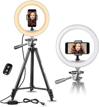 UBeesize 10-Inch Selfie Ring Light