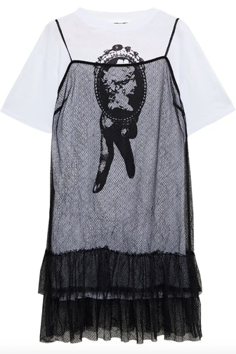Layered Tiered Mini Dress