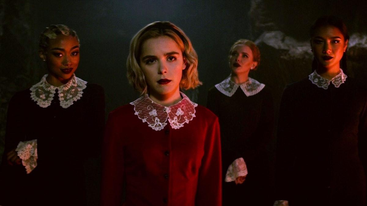 Kiernan Shipka leads the cast of Chilling Adventures of Sabrina.