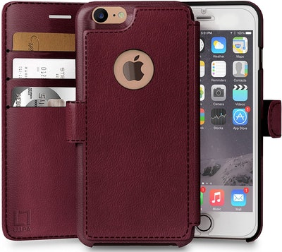 LUPA Faux-Leather iPhone 6/6s Wallet Case