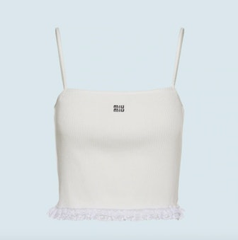 Ribbed Knit Jersey