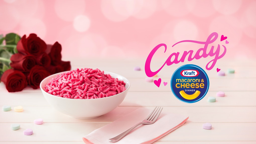 Here's how to get Kraft's Candy Pink Mac & Cheese just in time for Valentine's Day.