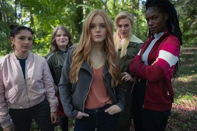 Fate: The Winx Club Saga Season 1. Elisha Applebaum as Musa, Eliot Salt as Terra, Abigail Cowen as B...