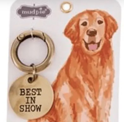 Best In Show Dog Collar Charm