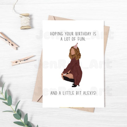 Birthday Card / A Little Bit Alexis