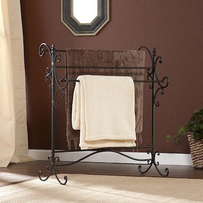 SEI Furniture Blanket Rack