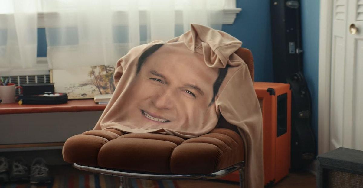 Jason Alexander's Face on a Hoodie. Because 2021 Wants to Outweird 2020.