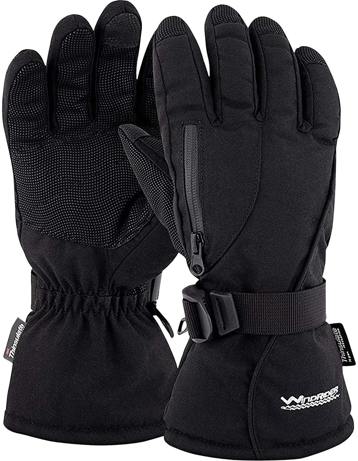 WindRider Rugged Waterproof Winter Gloves