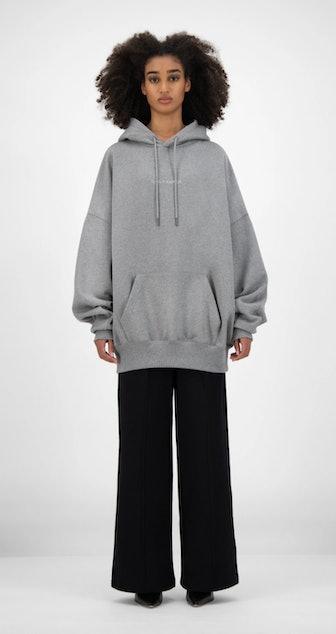 Grey Horhine Hoody