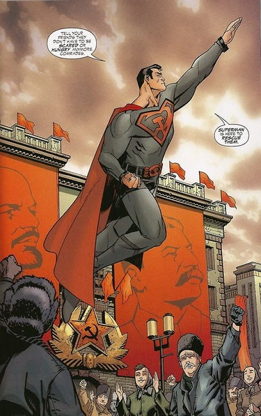 superman red son comic panel