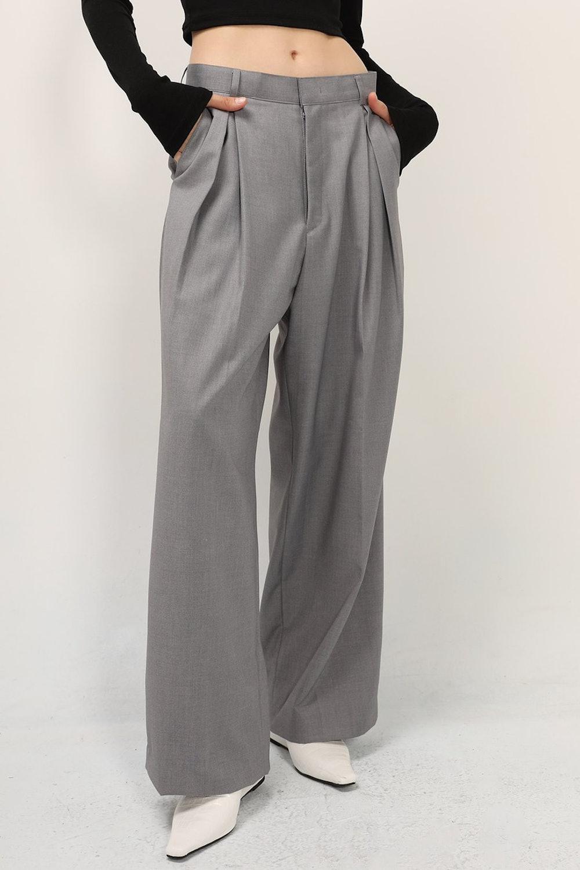 Greta Pintuck Wide Leg Pants