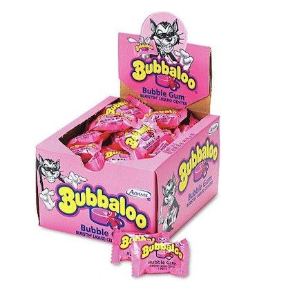 Bubbaloo bubblegum kept kids entertained for hours.