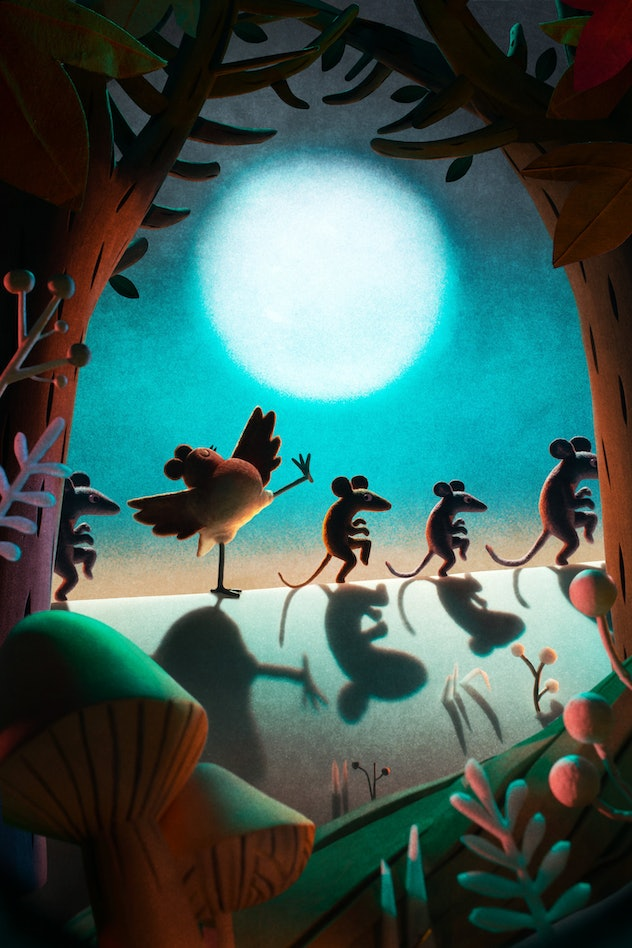 An animated film about a bird raised by a family of mice is coming to Netflix in 2021.