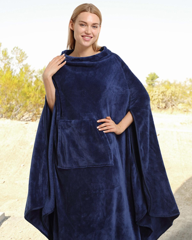 Catalonia Wearable Blanket Poncho
