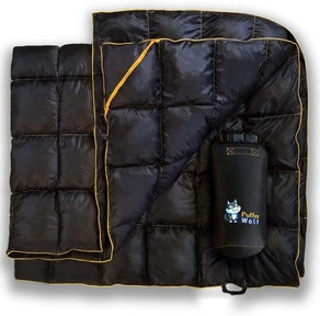 PUFFER WOLF Outdoor Camping Blanket