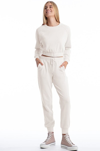Fleece Long Sleeve Pullover and Jogger Pant