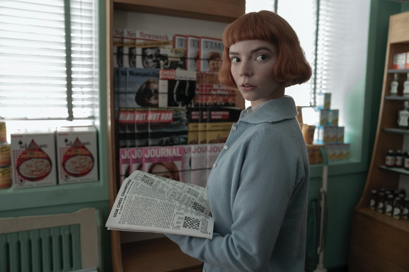 A still from 'The Queen's Gambit,' one of many shows for women on Netflix