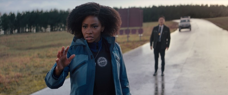 Teyonah Parris as Monica Rambeau in 'Wandavision' via the Disney+ press site