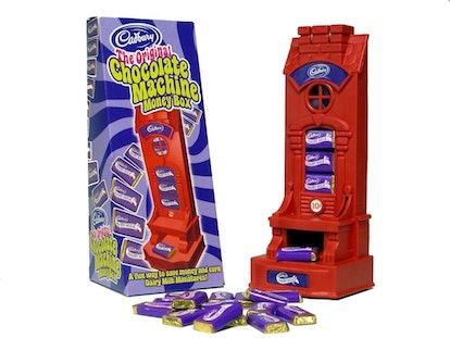 Cadbury's dairy milk dispenser was a dream come true for '00s kids.