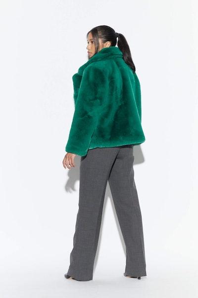 Manon Verdant Green Oversized Coat