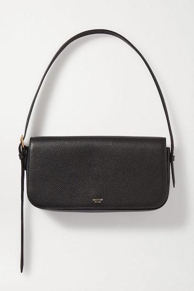 Oroton Anouk Textured-Leather Shoulder Bag