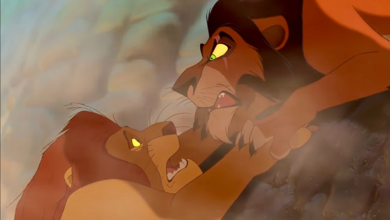 Mufasa & Scar in 1994's 'The Lion King'