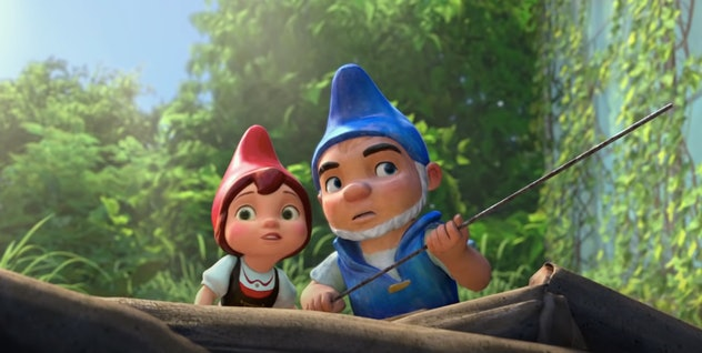 Can two gnomes from warring yards overcome the odds and find love?