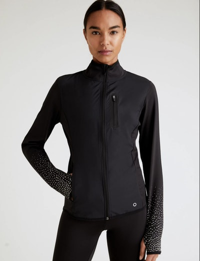 Padded Reflective Running Jacket