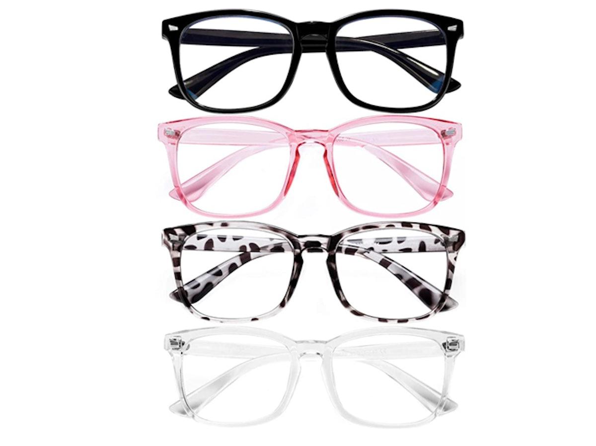 FEIDU Blue Light Blocking Glasses (4-Pack)