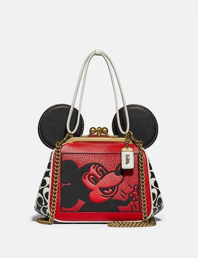 Disney Mickey Mouse X Keith Haring Kisslock Bag