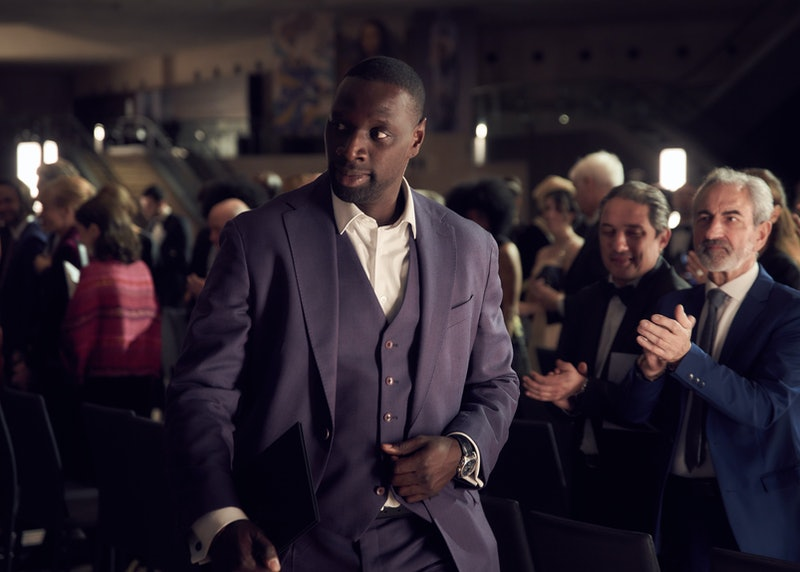 Omar Sy as Lupin in Netflix's 'Lupin,' via Netflix press site.