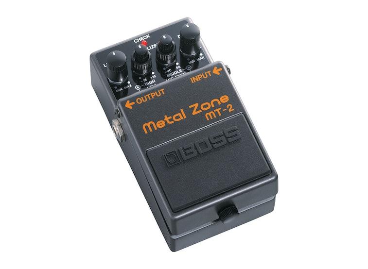 A Boss guitar pedal