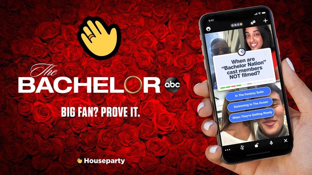 Houseparty dropped a new 'Bachelor' trivia deck.