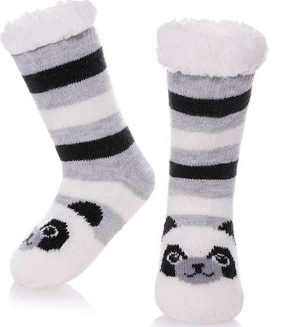 LANLEO Cute Animal Slipper Socks