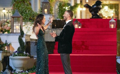 Serena P. on The Bachelor via the ABC press site