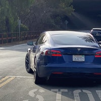 Tesla Model S 2021: incredible photos show high performance EV in action