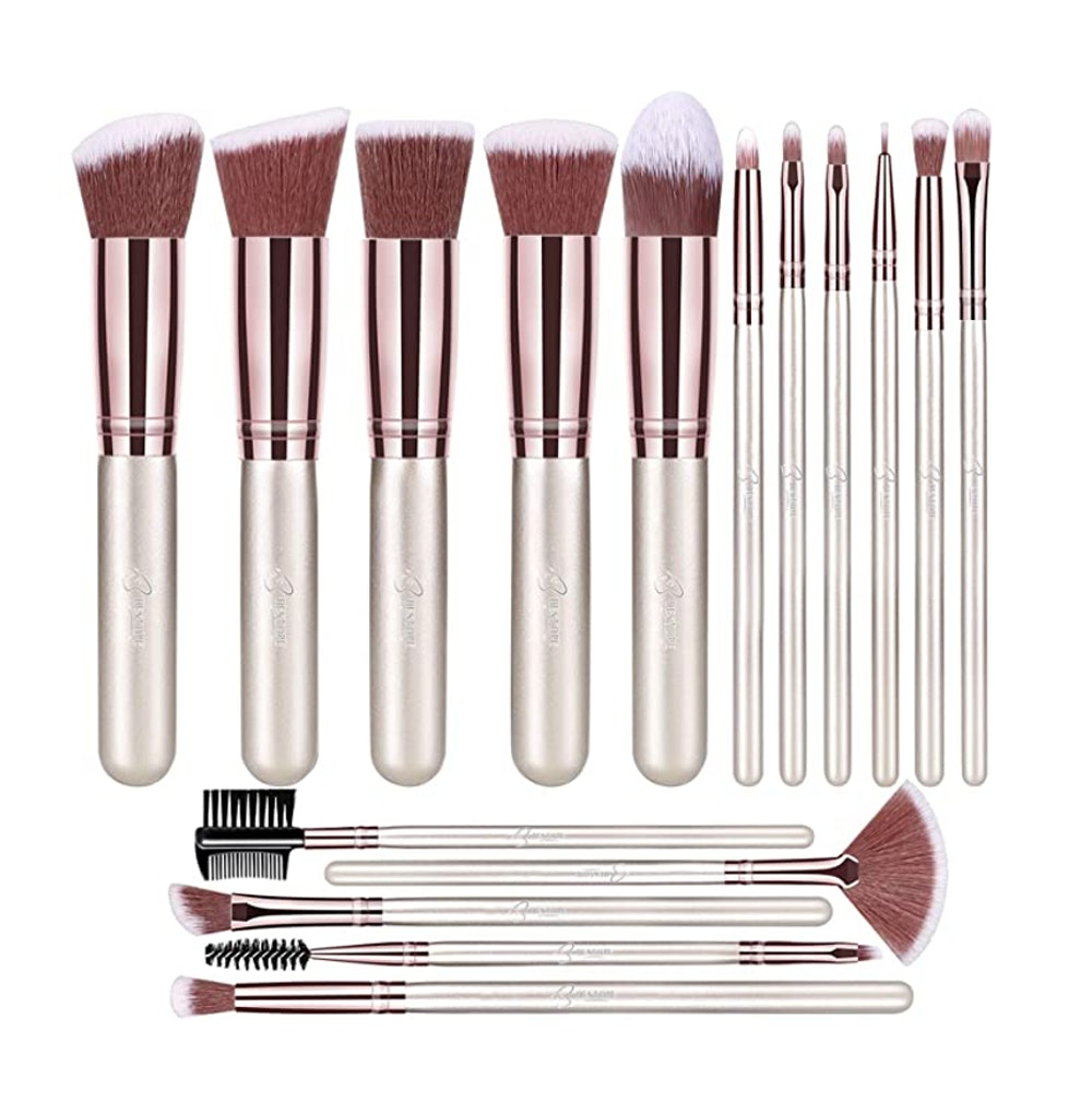 BESTOPE 16 Piece Makeup Brushes
