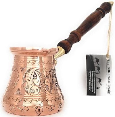The Silk Road Trade Turkish Coffee Pot
