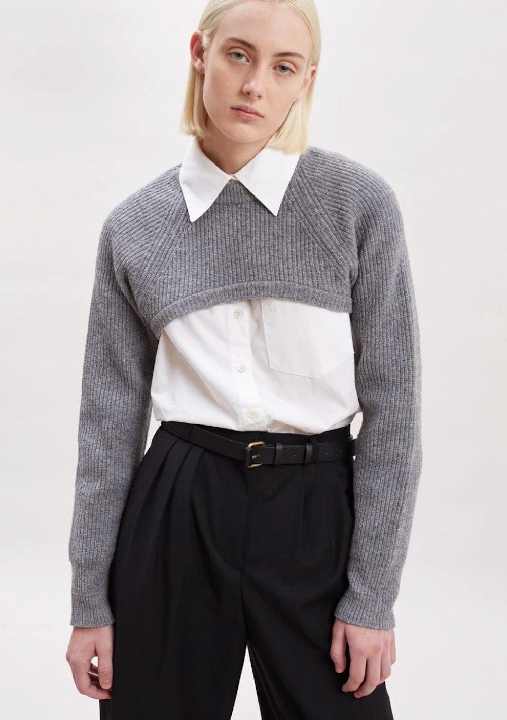 Super Crop Bolero Sweater
