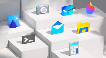 New app icons in Windows 10