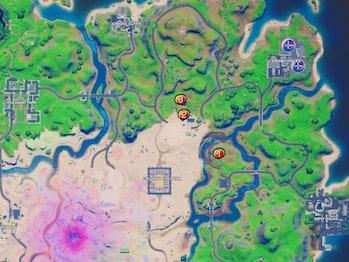 Tomato Stash Map Fortnite Week 3