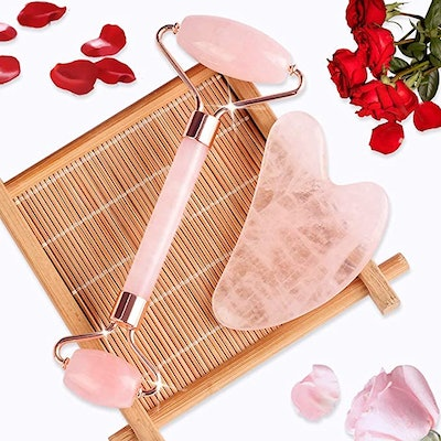 BAIMEI Rose Quartz Massager