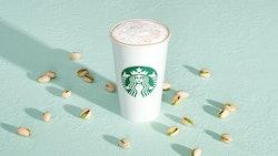 Starbucks' Winter Drinks 2021 Include A New Pistachio Latte