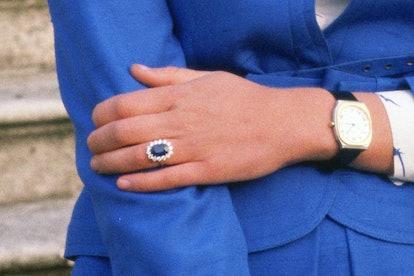 royal engagement rings princess diana