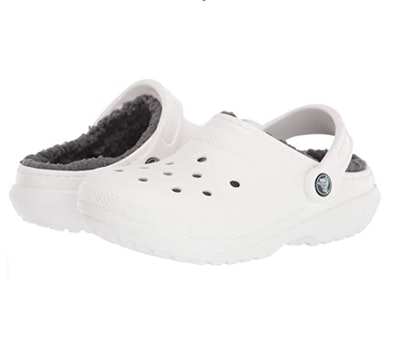 Crocs Lined Fuzzy Clog Slippers