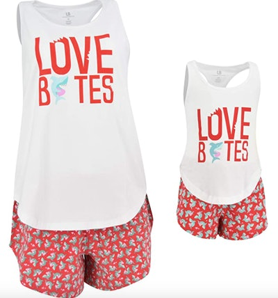 Unique Baby Love Bites Mommy and Me Pajamas