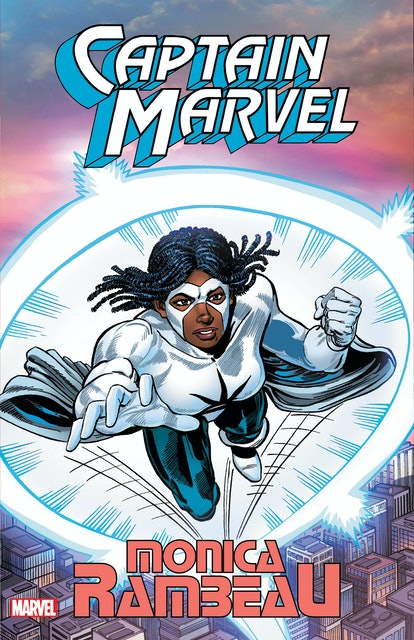 The cover of 'Captain Marvel: Monica Rambeau.'