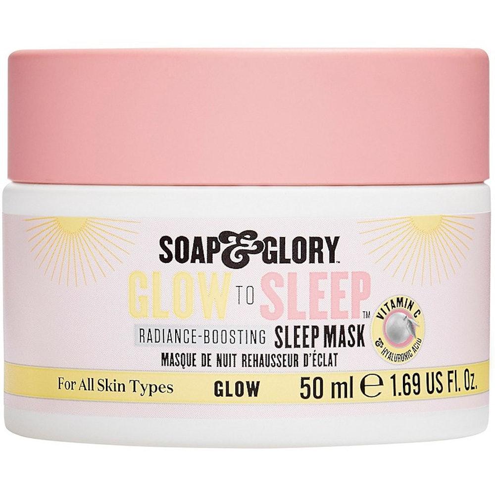 Soap & Glory Glow To Sleep Radiance-Boosting Sleep Mask