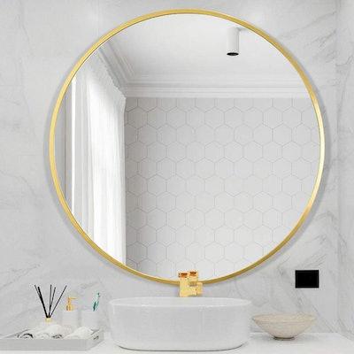 Beauty4U Wall Circle Mirror
