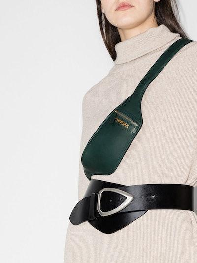 La Banane Leather Belt Bag